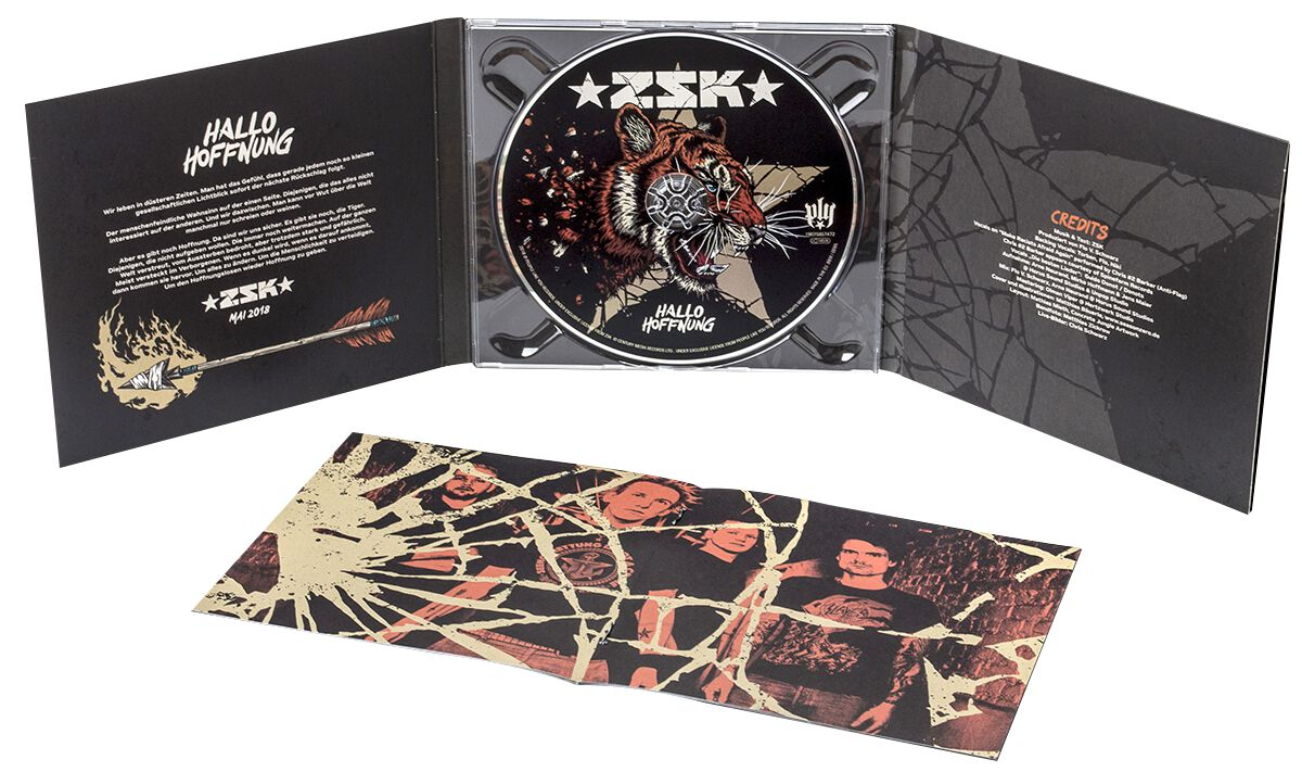ZSK Hallo Hoffnung CD Standard
