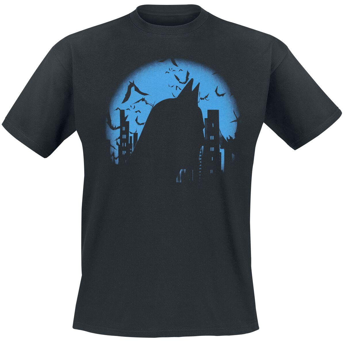 Image of   Batman Dark City T-Shirt sort