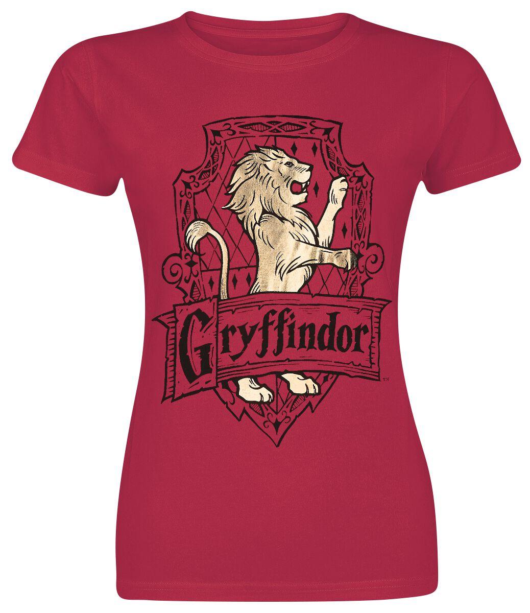 Image of   Harry Potter Gryffindor - Brave Girlie trøje rød