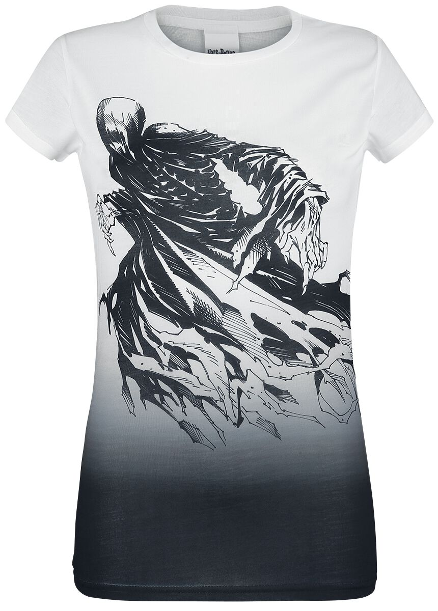 Image of   Harry Potter Dementor Girlie trøje sort-hvid
