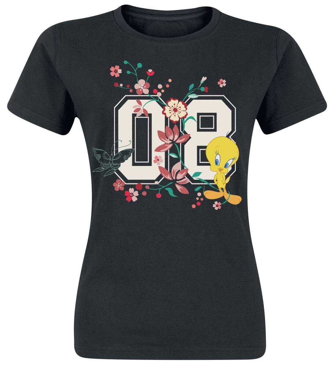 Looney Tunes Tweety - 08 Koszulka damska czarny