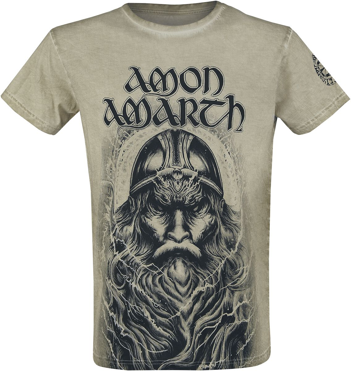 Image of   Amon Amarth EMP Signature Collection T-Shirt olivengrøn