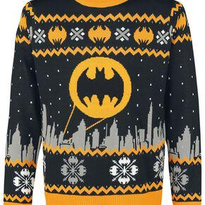 Batman Gotham Pull noir/gris/jaune