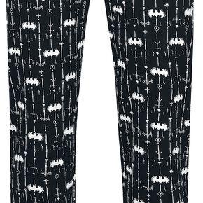 Batman Logo Bas de pyjama noir/blanc