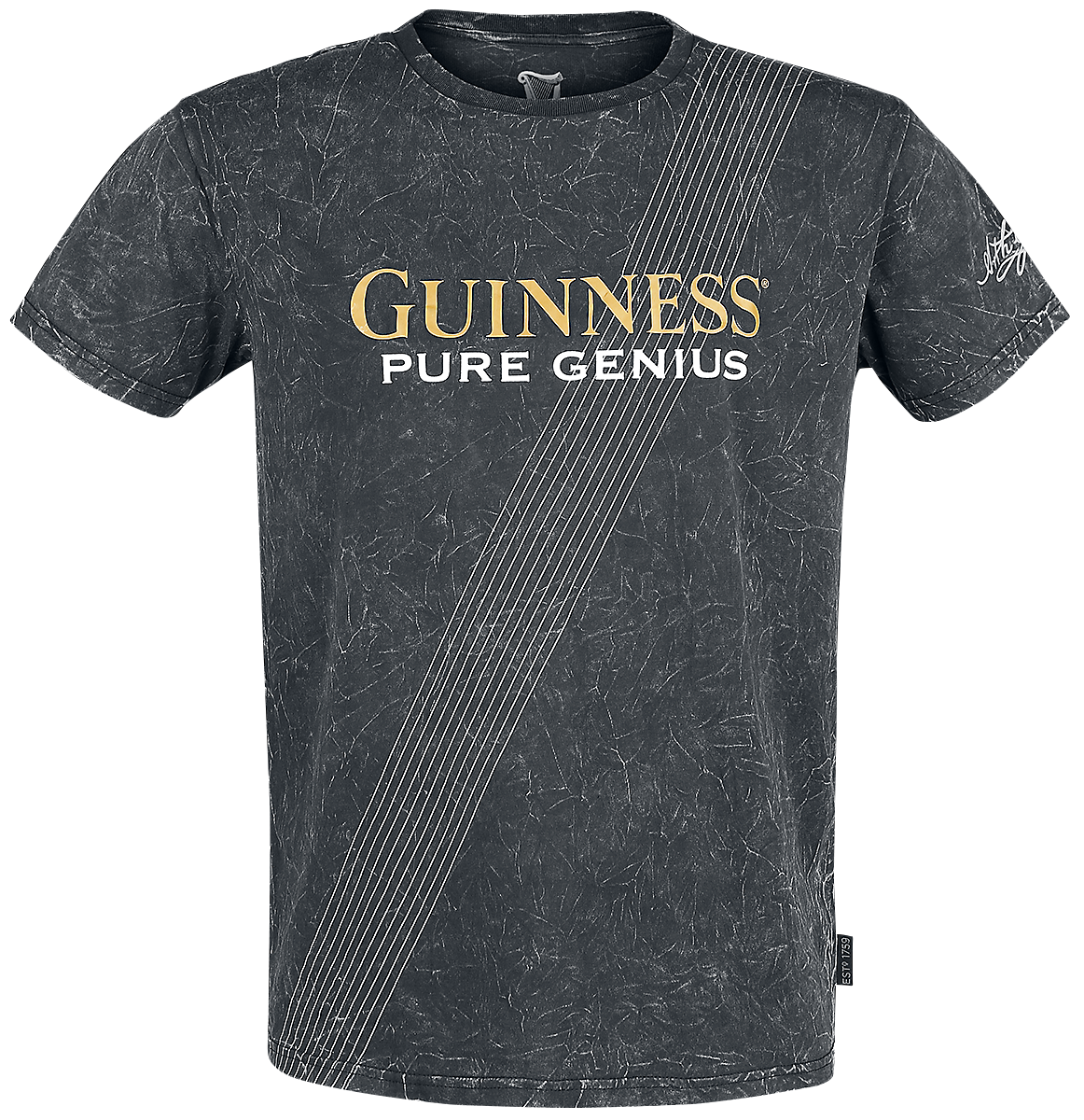 Guinness - Pure Genius - T-Shirt - dark grey