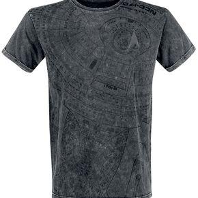Star Trek Starship T-shirt gris