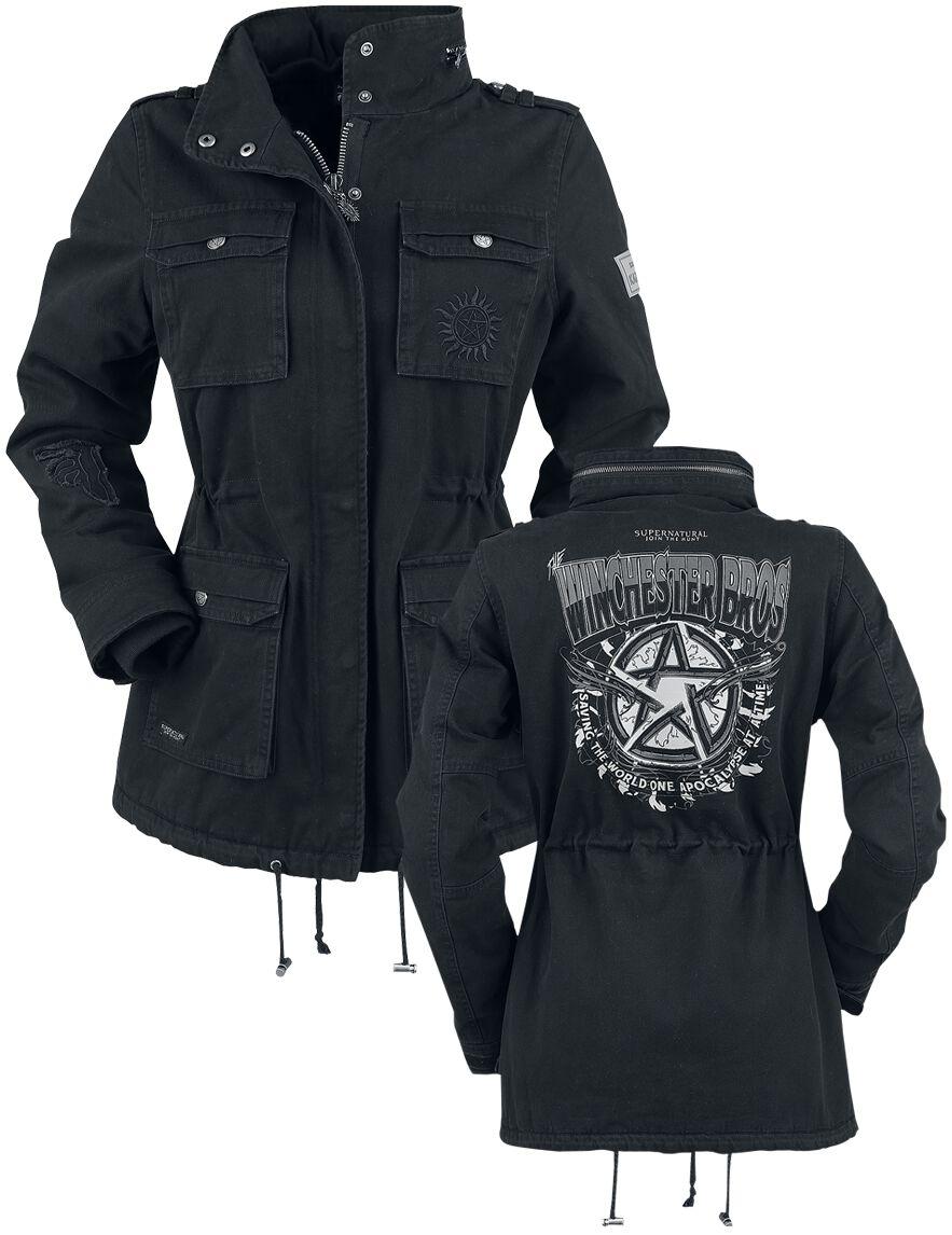 Image of   Supernatural Winchester Bros. Girlie jakke sort