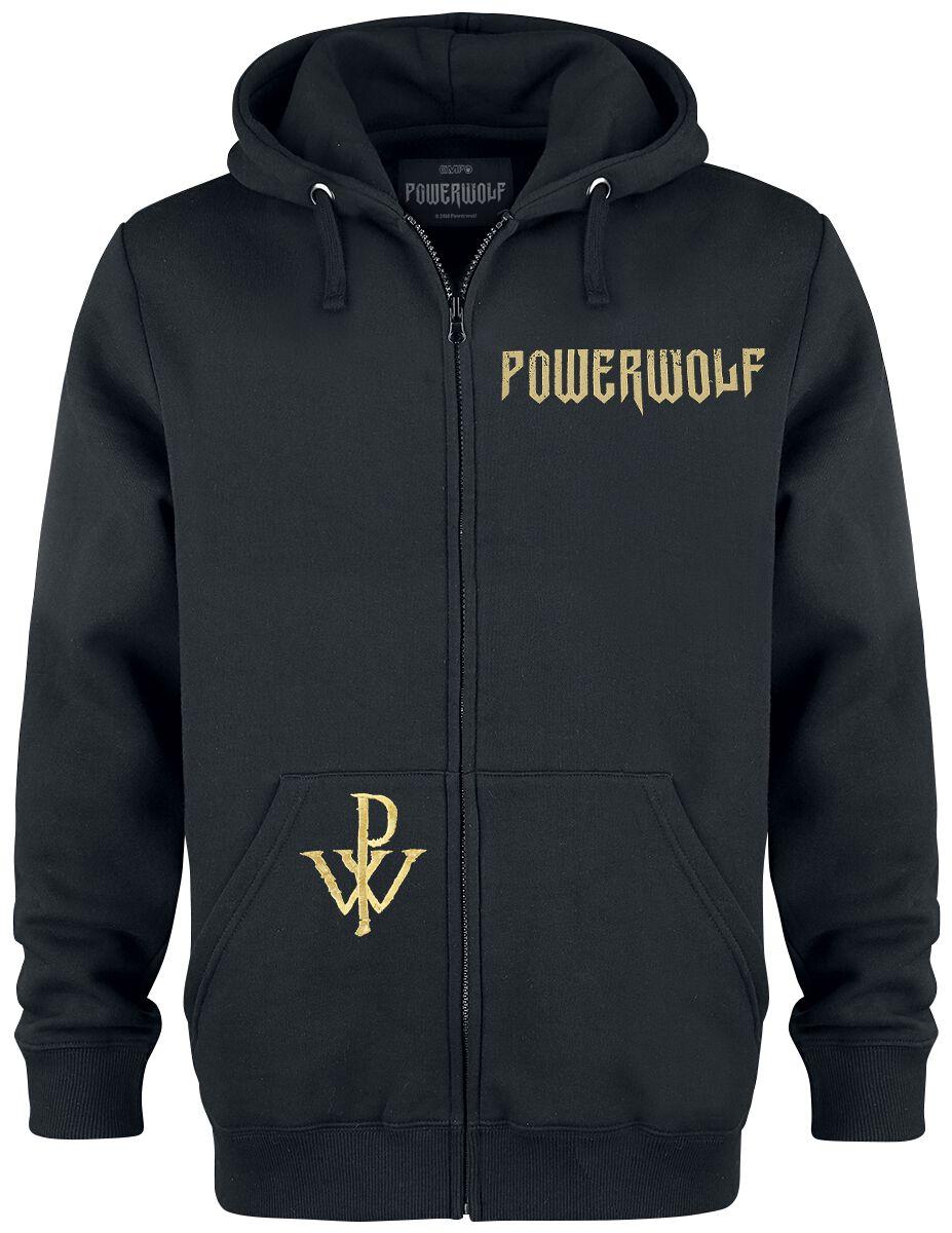 Image of   Powerwolf SoS - Wolf Hættejakke sort