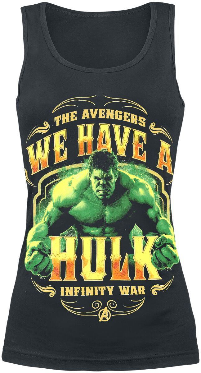 Image of   Avengers Infinity War - We Have A Hulk Girlie top sort