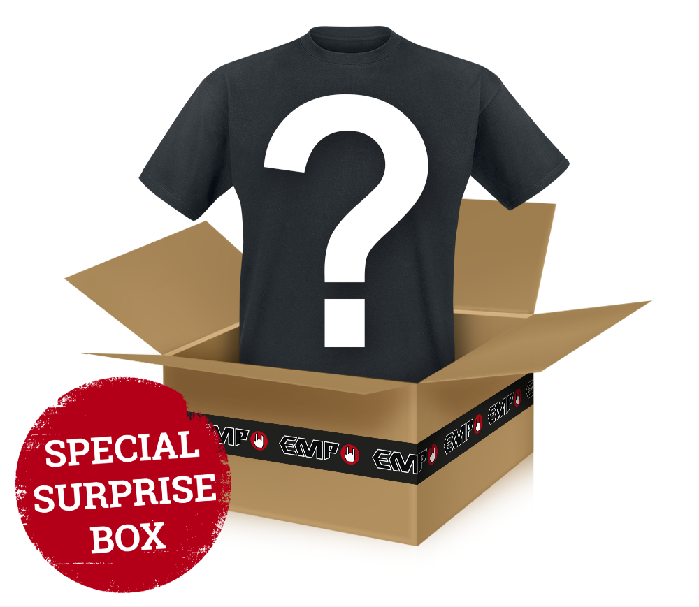 Surprise Metal/Rock Shirt - A randomly-chosen metal/rock t-shirt - T-Shirt - Standard
