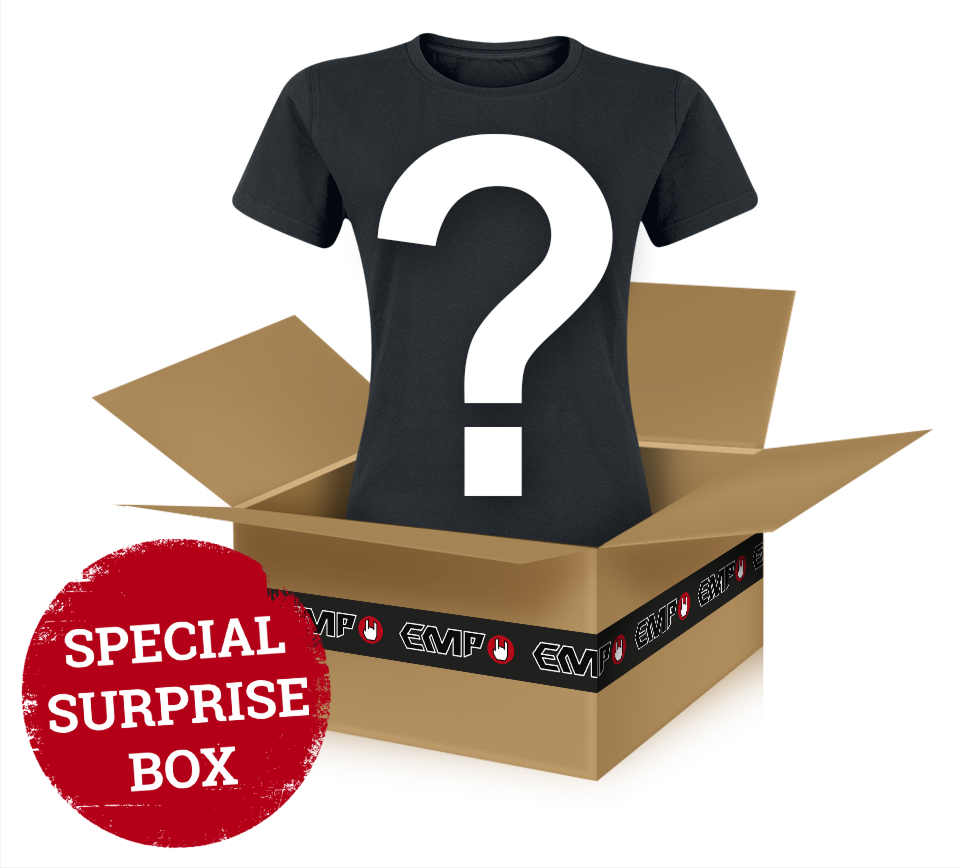 Surprise Metal/Rock Shirt - A randomly-chosen metal/rock t-shirt - Girls shirt - Standard