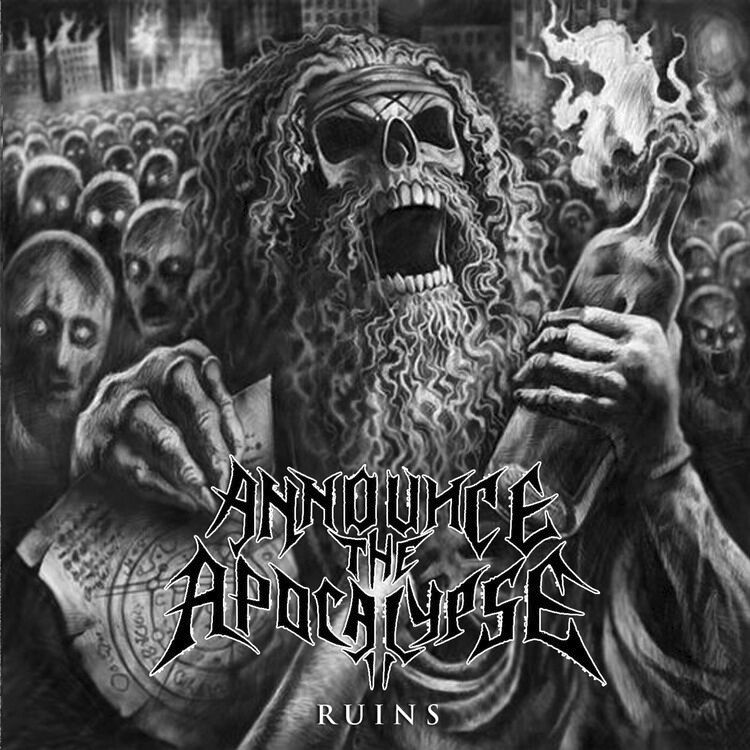 Image of   Announce The Apocalypse Ruins CD standard