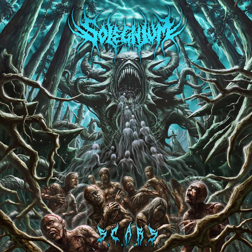 Image of   Solegnium Sickening cases about rotten souls CD standard