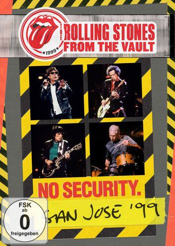 Image of   The Rolling Stones From the vault: Security - San Jose 1999 DVD standard