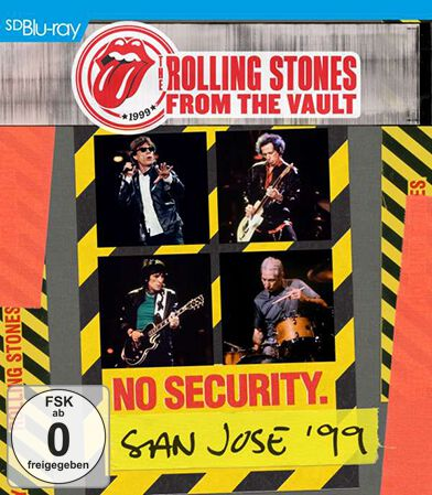 Image of   The Rolling Stones From the vault: Security - San Jose 1999 Blu-ray standard