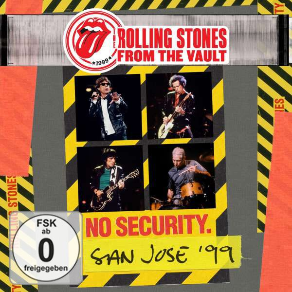 Image of   The Rolling Stones From the vault: Security - San Jose 1999 DVD & 2-CD standard