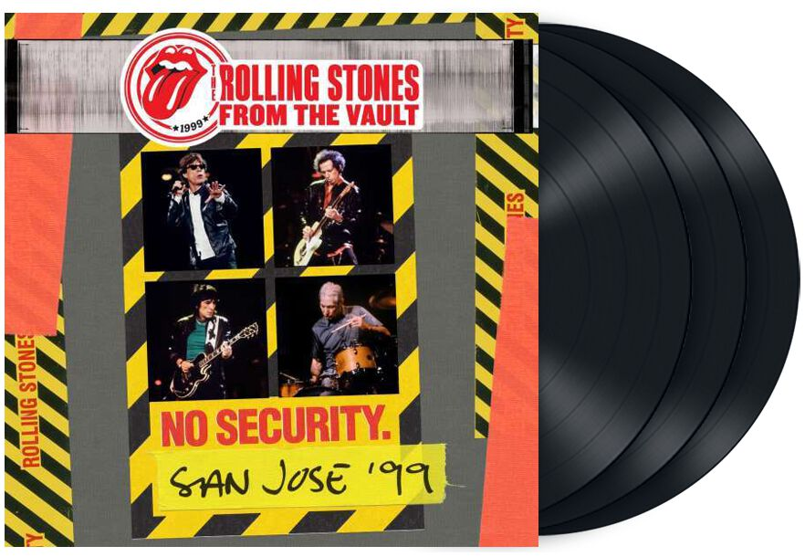 Image of   The Rolling Stones From the vault: Security - San Jose 1999 3-LP standard
