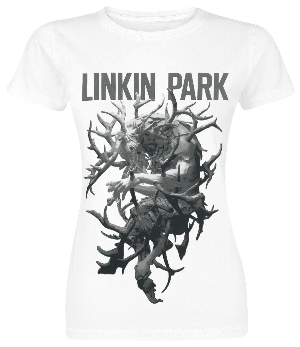 Image of   Linkin Park The hunting party Girlie trøje hvid