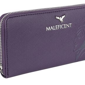 La Belle Au Bois Dormant Loungefly - Maleficent Portefeuille lilas