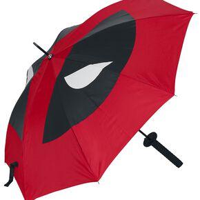 Deadpool Katana Parapluie noir/rouge