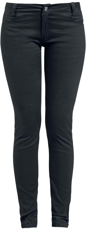 Skarlett Pantalones Mujer Negro