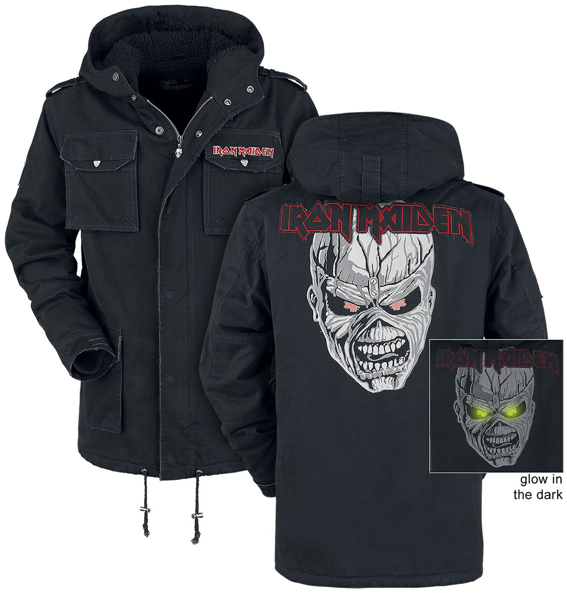 Image of   Iron Maiden EMP Signature Collection Jakke sort