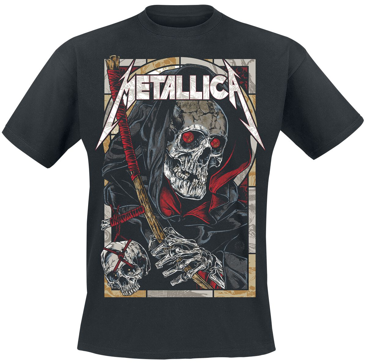Image of   Metallica Death Reaper T-Shirt sort