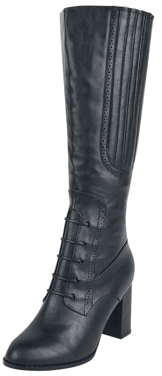 Stiefel für Frauen - Dancing Days Roscoe Stiefel schwarz  - Onlineshop EMP