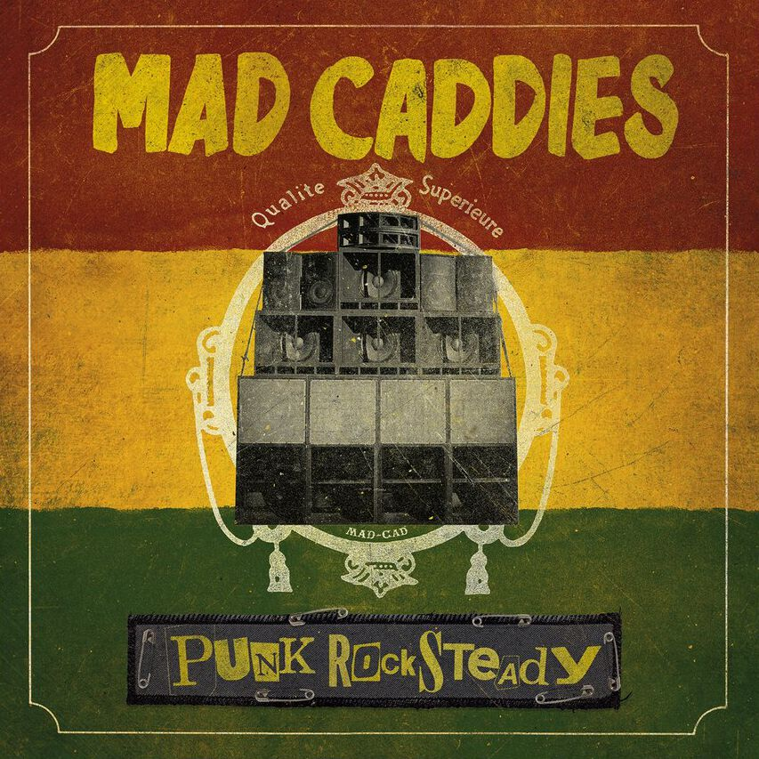 Mad Caddies Punk rocksteady CD Standard