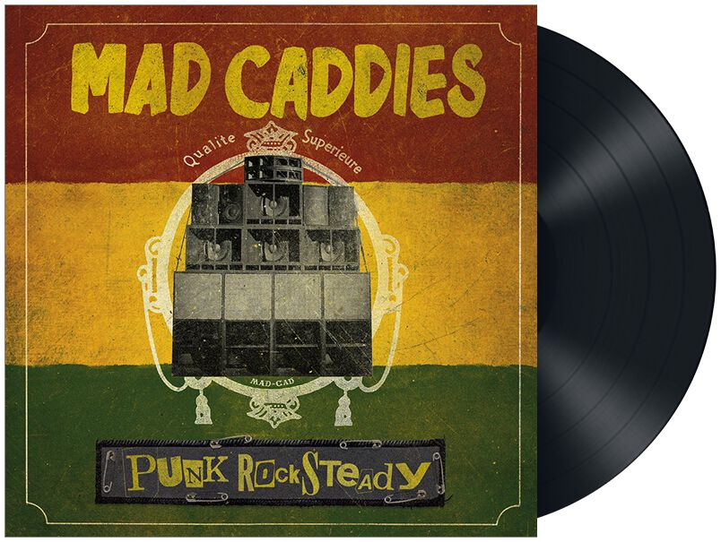 Mad Caddies Punk rocksteady LP Standard