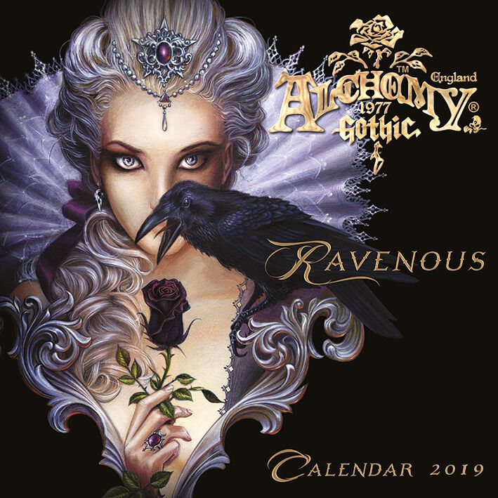 Alchemy Gothic 2019 Calendario oficial multicolor