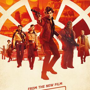 Star Wars Solo - A Star Wars Story - Millenium Teaser Poster multicolore