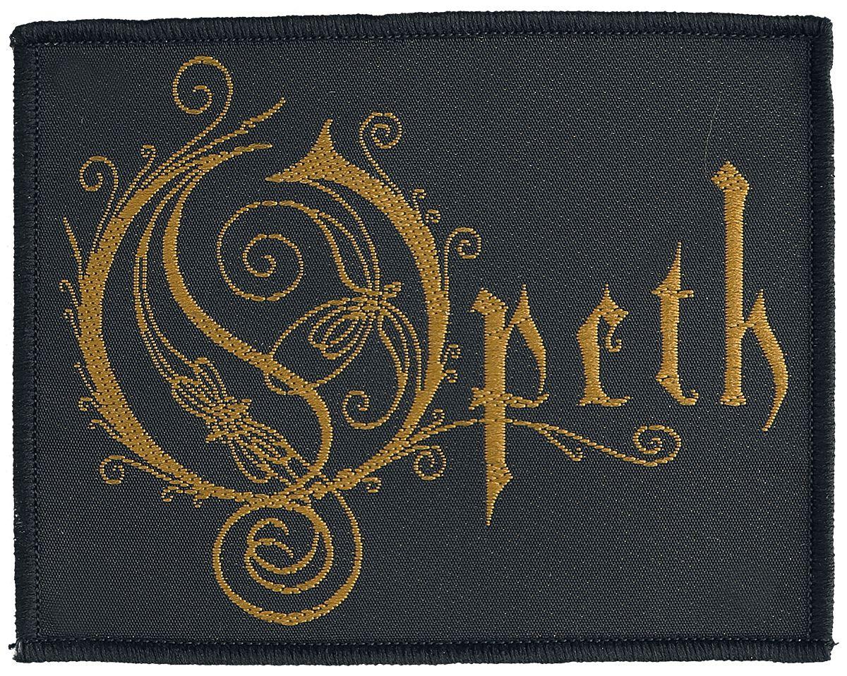 Opeth Logo Patch Mehrfarbig