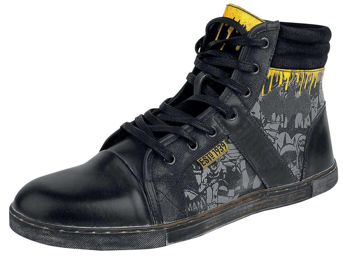 Image of   Batman Comic Sneakers grå