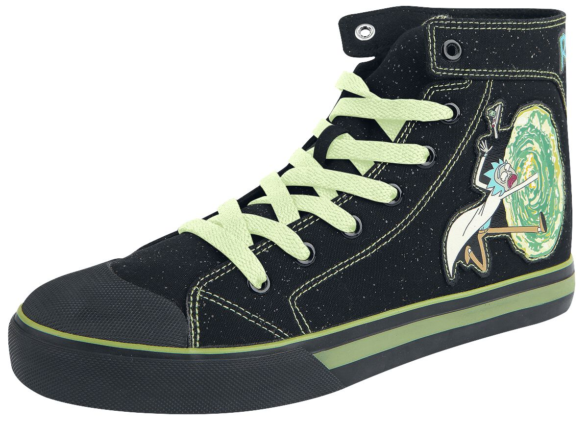 Image of   Rick And Morty Portal Sneakers sort