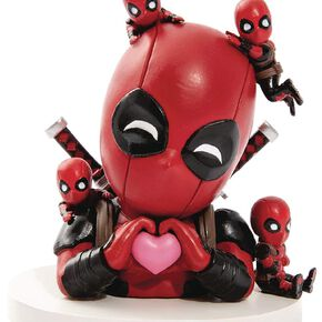 Deadpool Mini Egg Attack Figur Deadpool Day Dream Figurine de collection Standard
