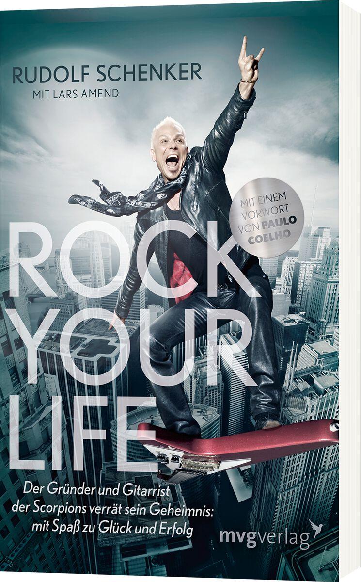 Scorpions Rudolf Schenker - Rock Your Life Tasc...
