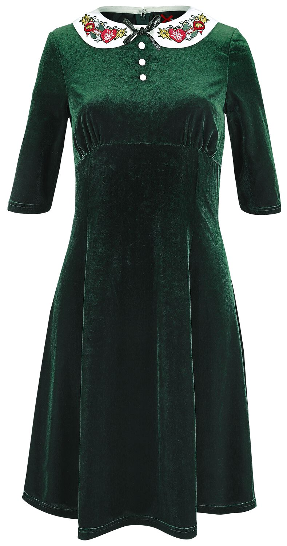 Image of   Hell Bunny Laeticia Mid Dress Kjole sort