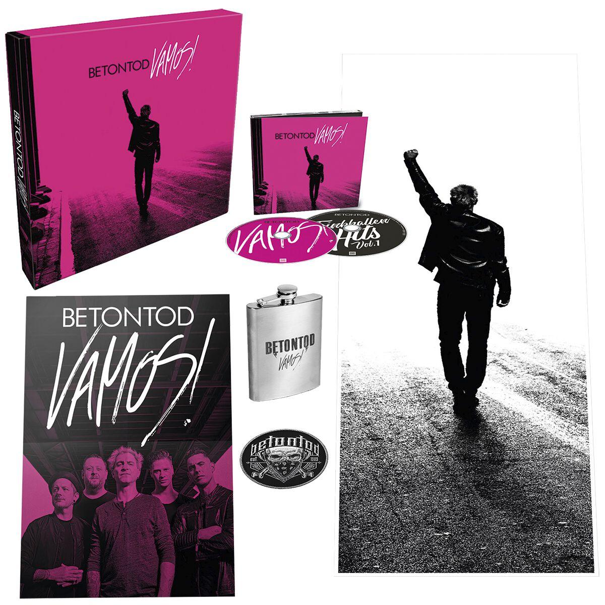 Betontod Vamos! / Trinkhallen Hits 2-CD Standard