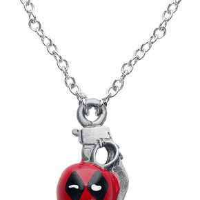 Deadpool Granate Collier couleur argent