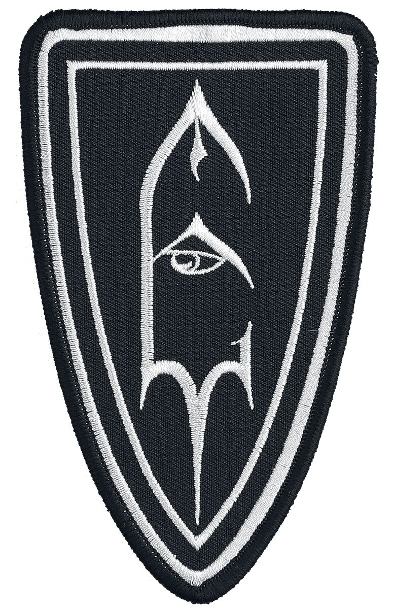 Emperor Shield Logo Patch schwarz