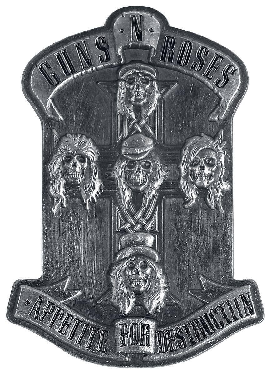 Image of   Guns N' Roses Appetite for destruction Nål grå