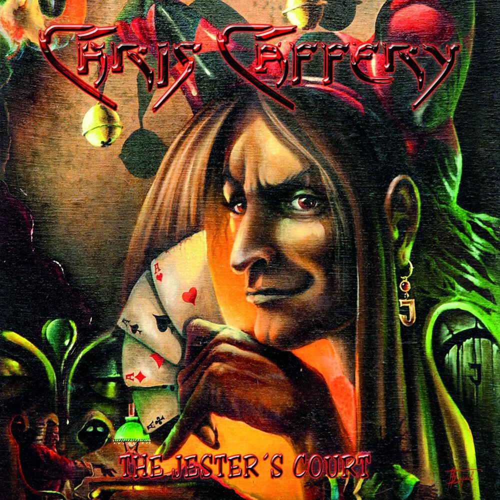 Chris Caffery The jester´s court CD Standard