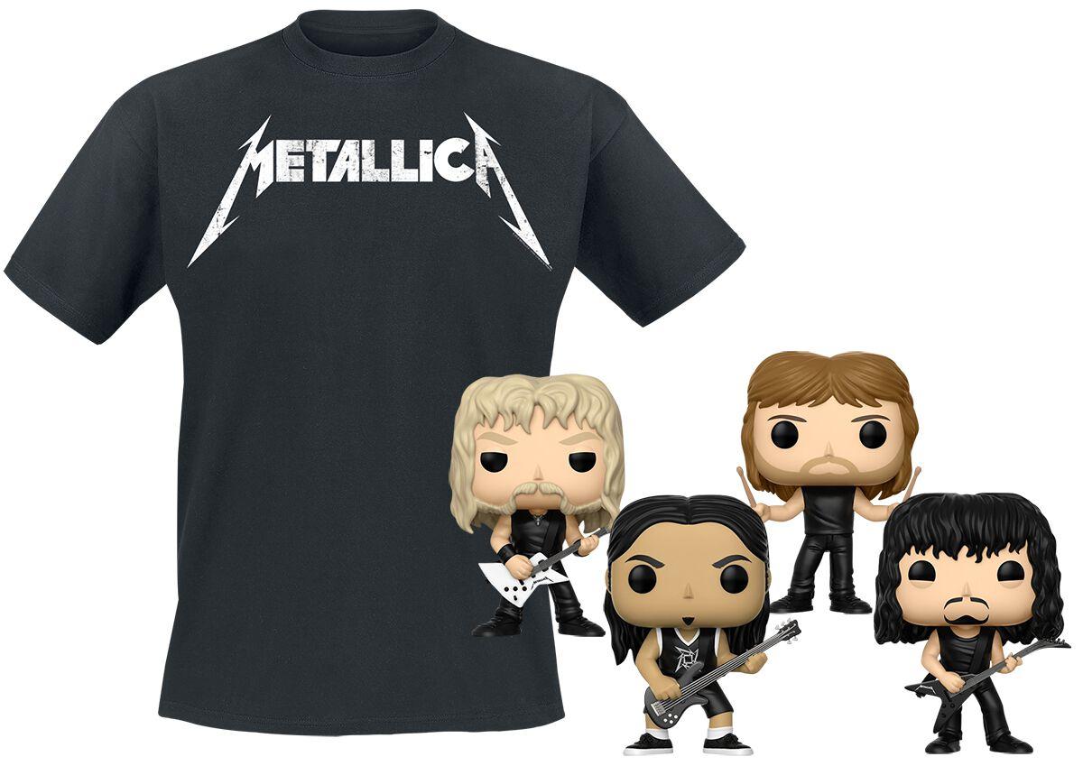 Metallica Metallica Bundle T-Shirt & Funko Stan...