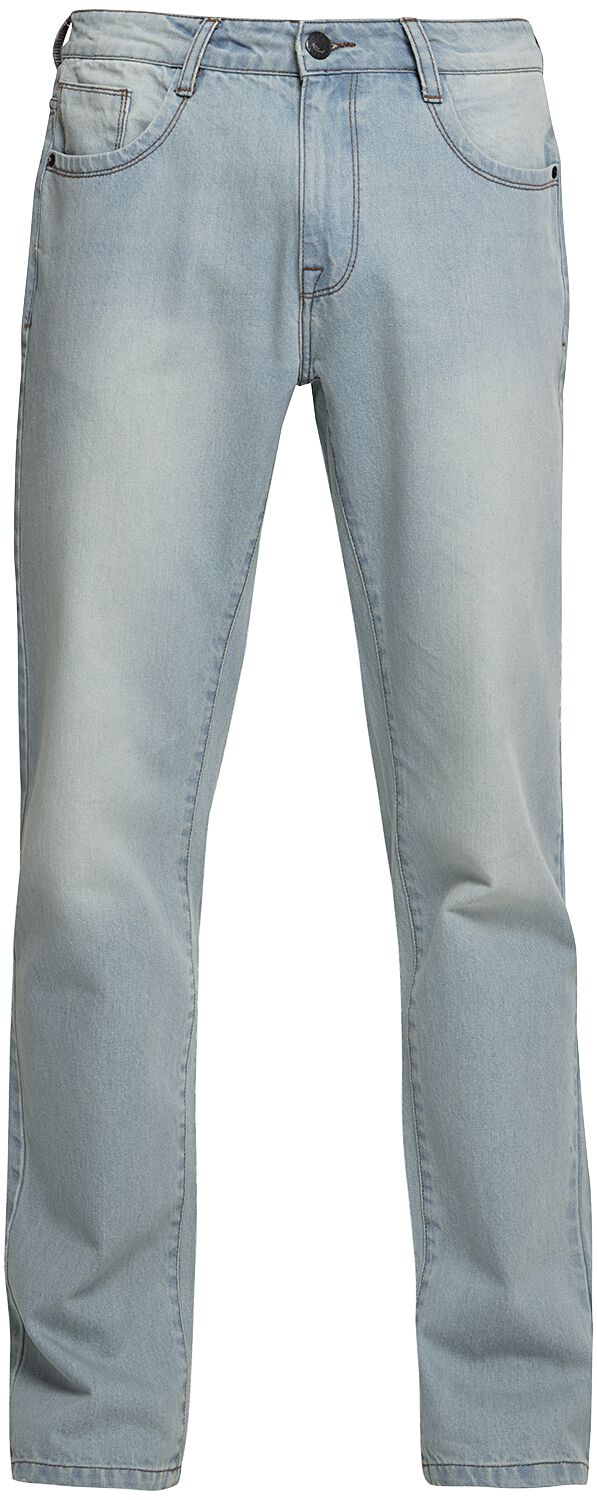 Image of   Urban Classics 5 Pocket Relaxed Fit Denim 3 Jeans blå