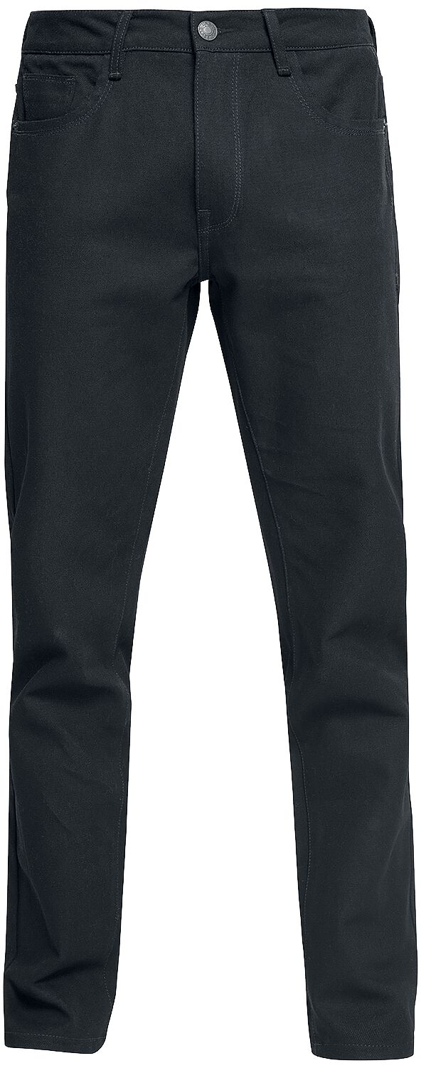 Image of   Urban Classics 5 Pocket Relaxed Fit Denim 3 Jeans sort