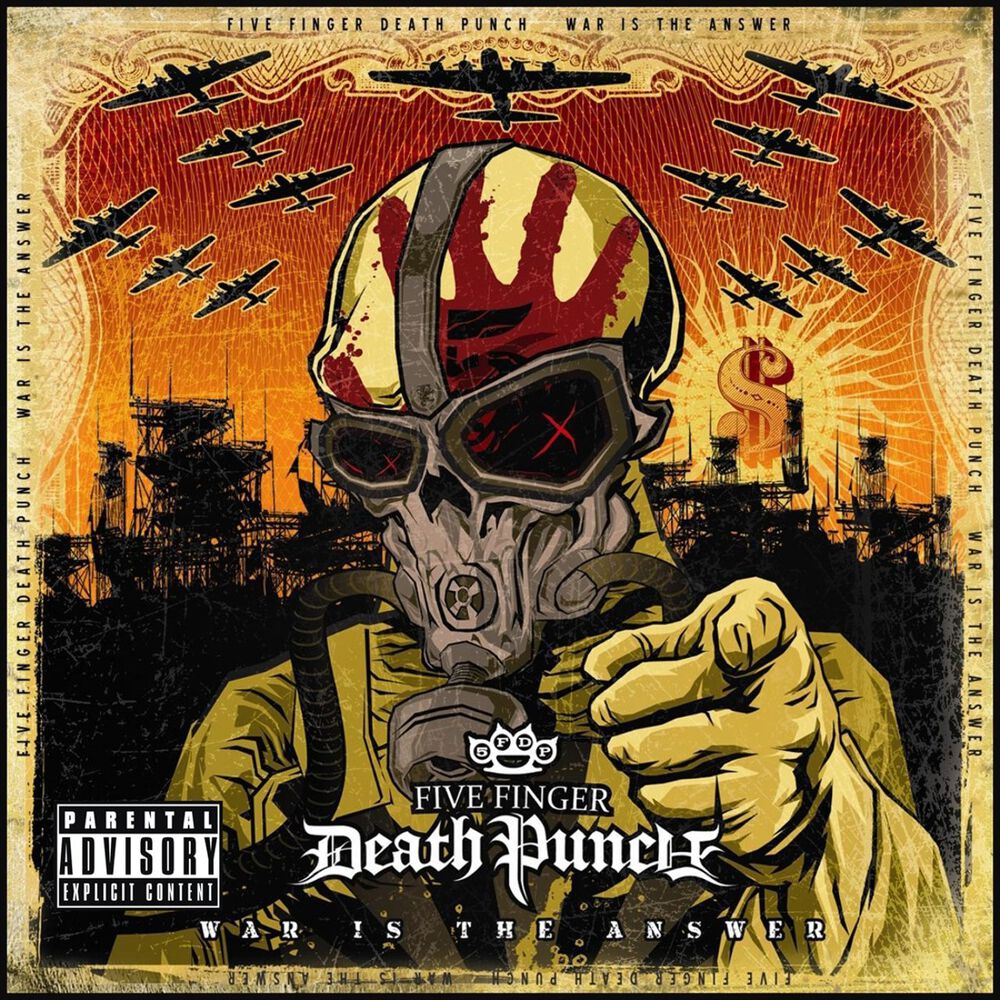 Image of   Five Finger Death Punch War Is The Answer CD standard