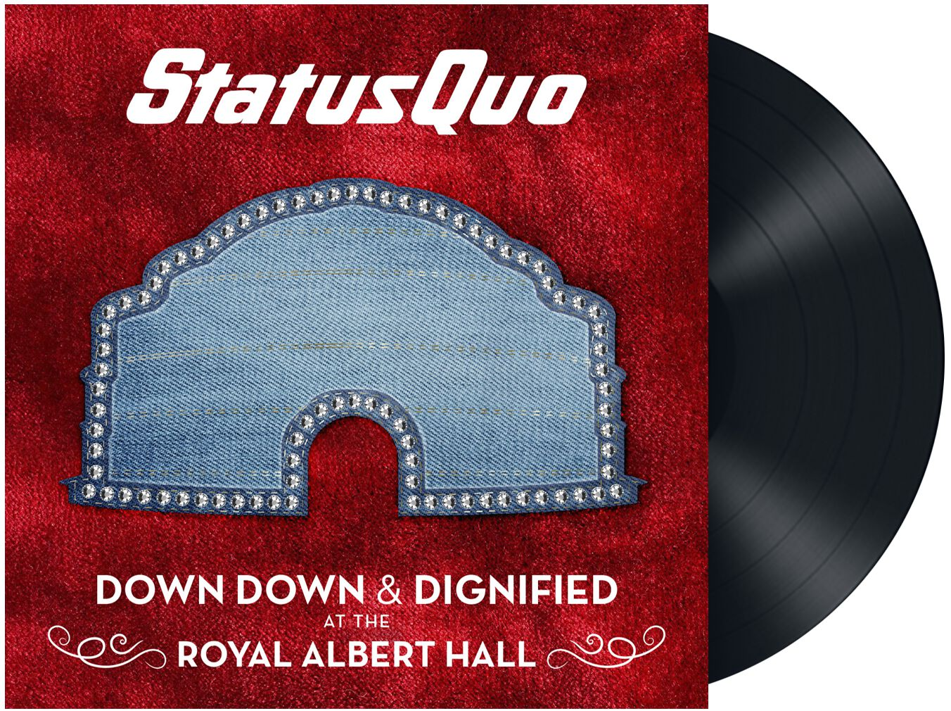 Status Quo Down down & dignified at The Royal A...