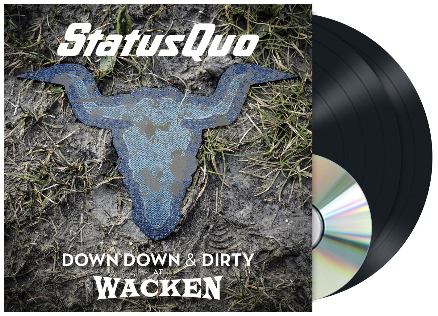 Status Quo Down down & Dirty at Wacken 2-LP & D...