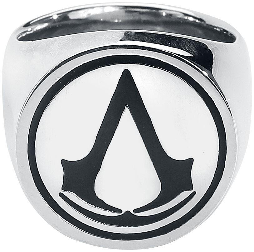 Image of   Assassin's Creed Logo Ring sølvfarvet